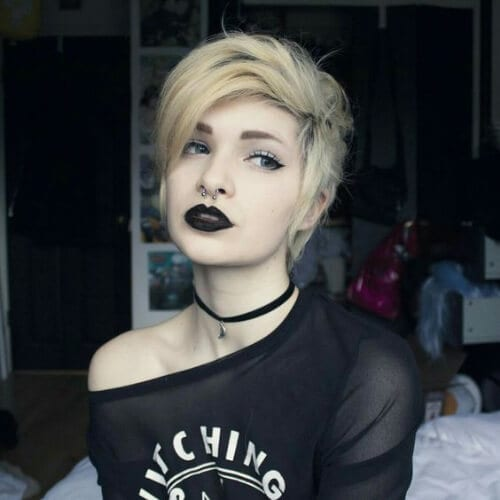 pretty short punk hairstyles