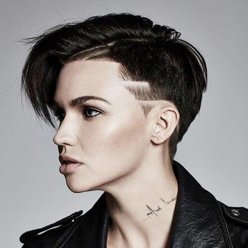 ruby rose short punk hairstyles