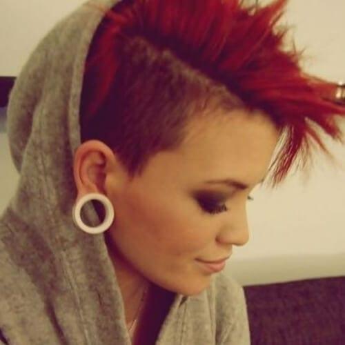 short punk hairstyles