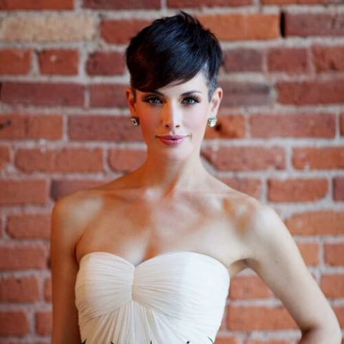 undershave wedding hairstyles for short hair