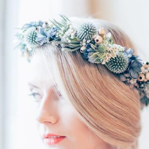 winter wedding hairstyles for short hair