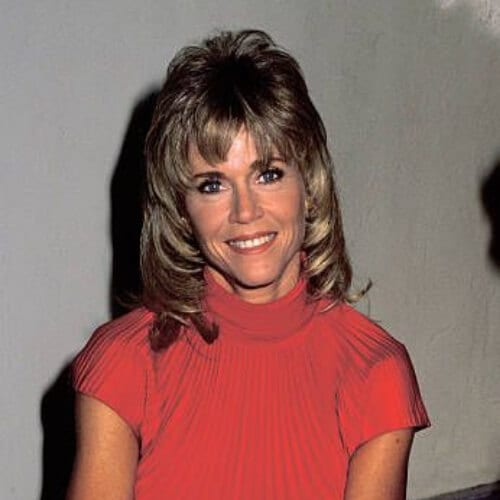 Jane Fonda hairstyles Workout Video Release - October 2, 1990
