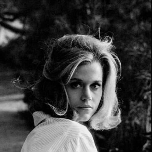 messy jane fonda hairstyles