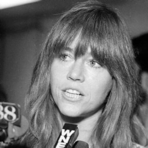 straight bangs jane fonda hairstyles