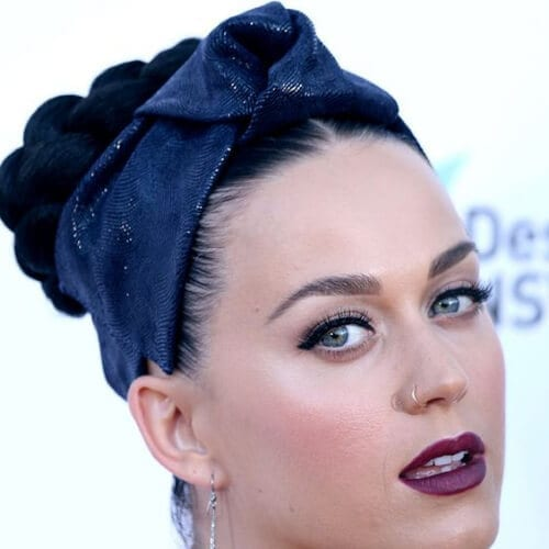 bandana katy perry hairstyles