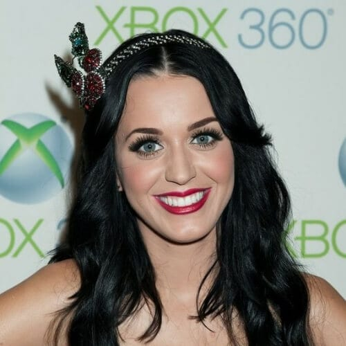 fascinator katy perry hairstyles