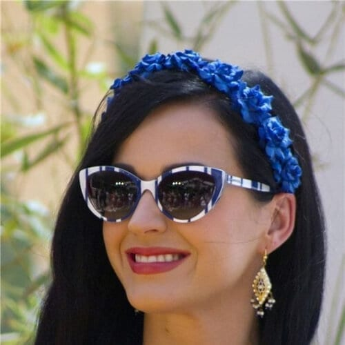flower crown katy perry hairstyles