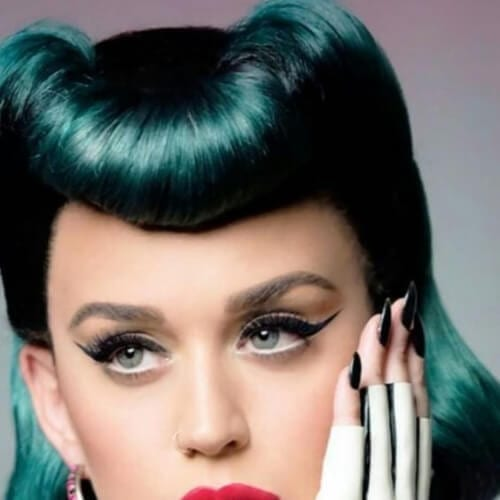 green jellyroll katy perry hairstyles