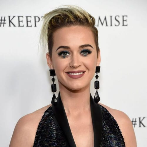 undercut katy perry hairstyles
