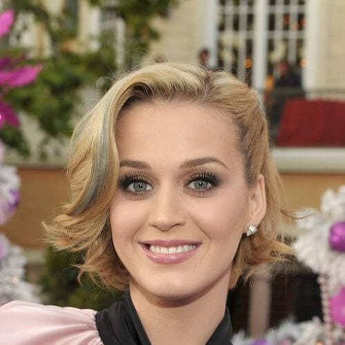 wavy bob katy perry hairstyles
