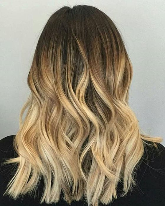 The Blonde Ombré