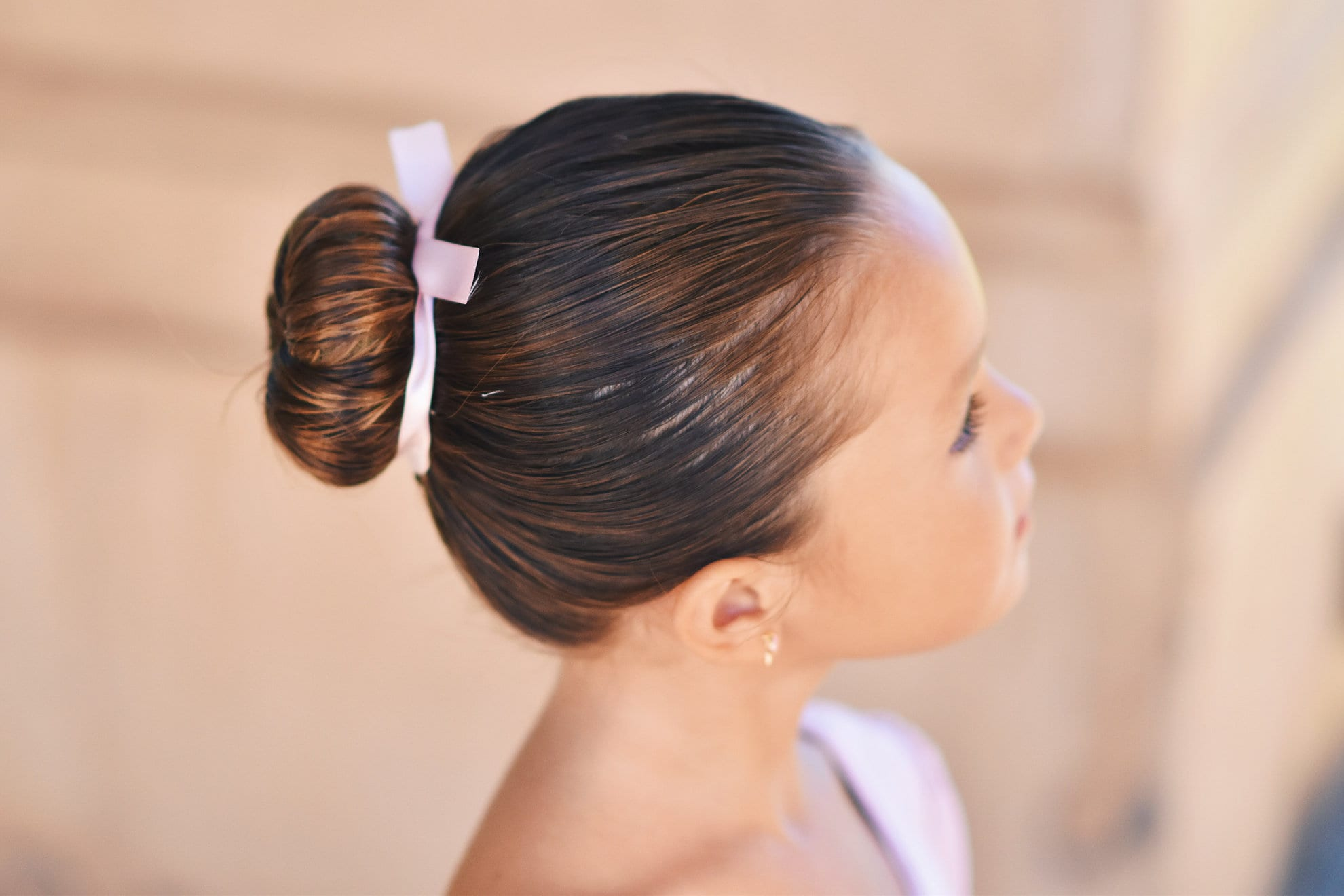 ballet bun for Little Girl Hairstyles