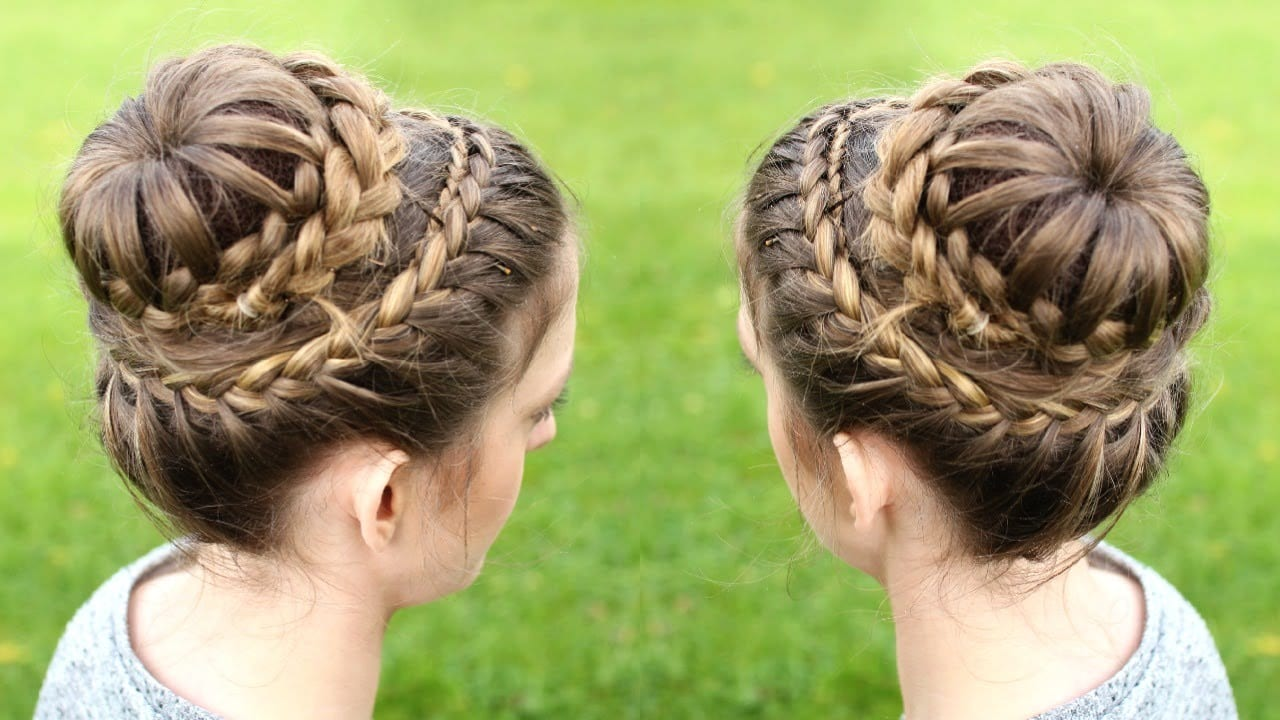 kids crown braid hairstyle