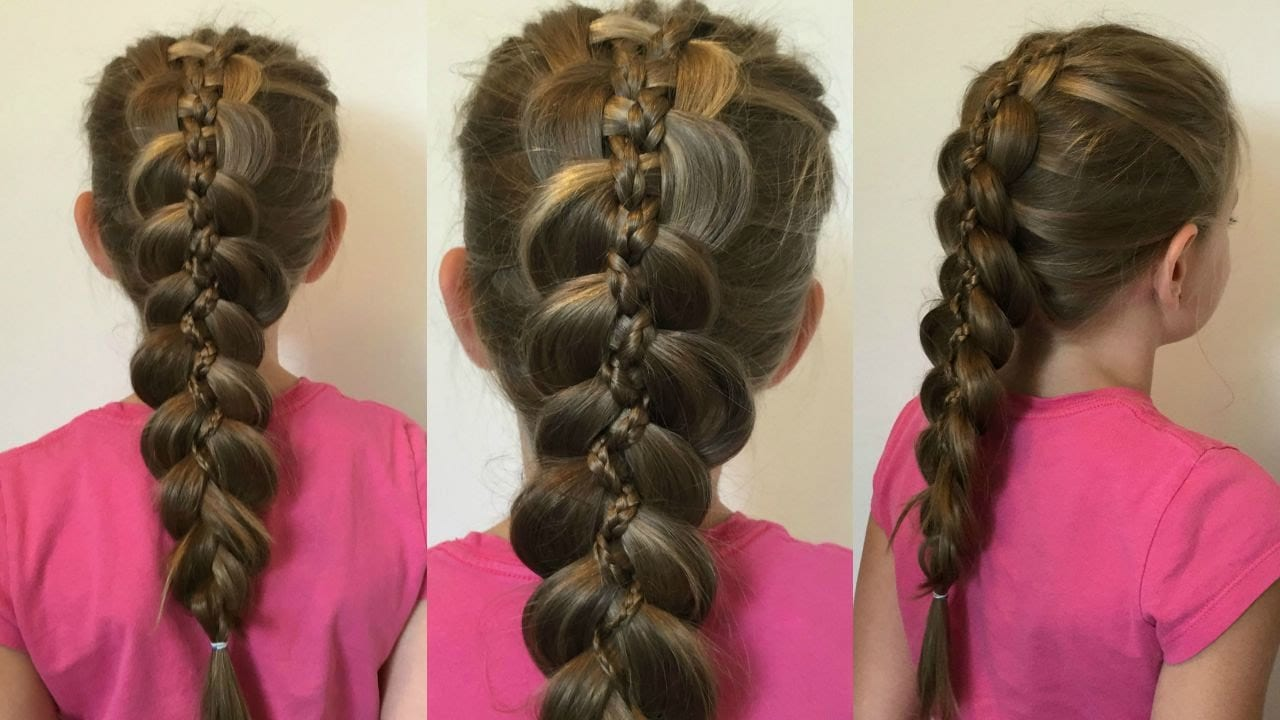 loony braid with micro braids for Little Girl Hairstyles