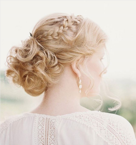 Strawberry Blonde Hair Color Vintage Glam