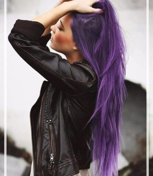 purple hair color featured image