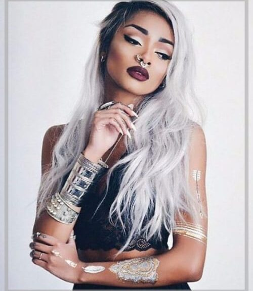 gray hair color featured image