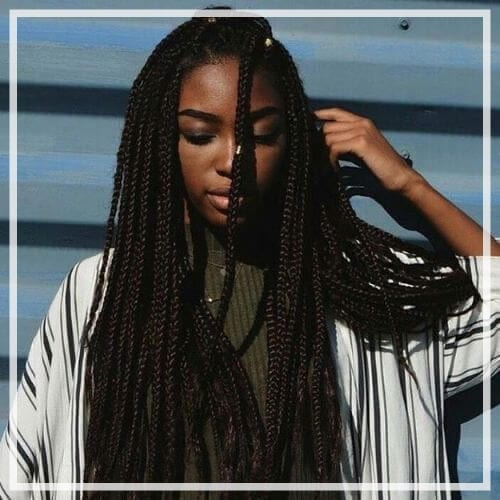 box braids styles featured image