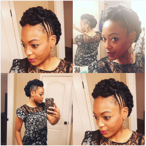 african american braided updos