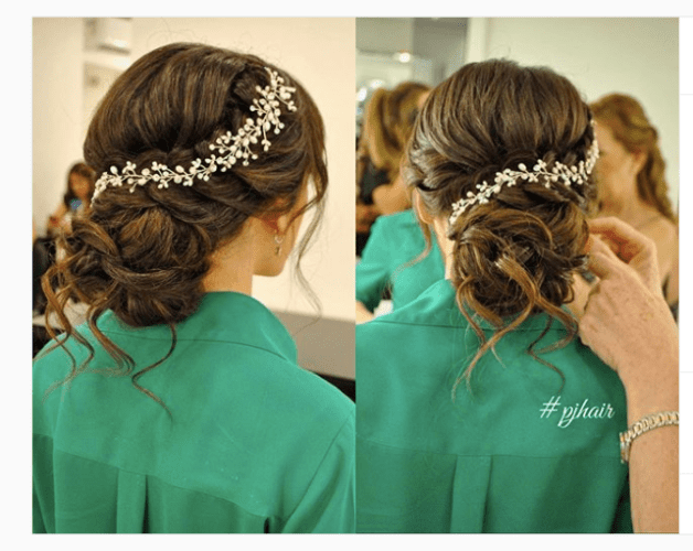braided updos for wedding