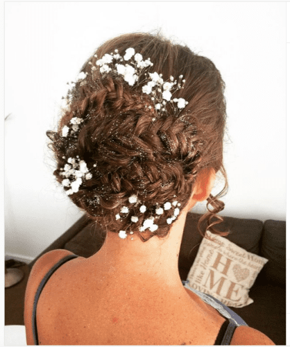 wedding fishtail braided updos