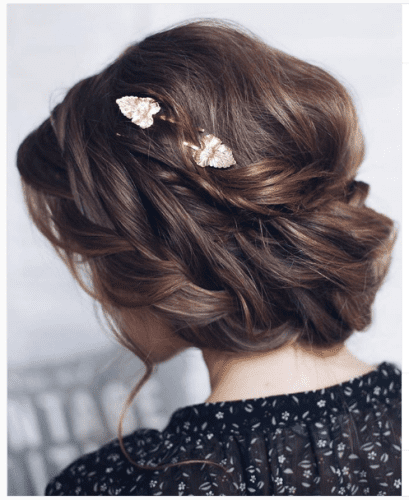 Crown Braid Rich Braided Updo