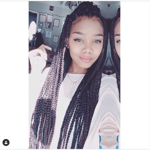 long hair long box braids