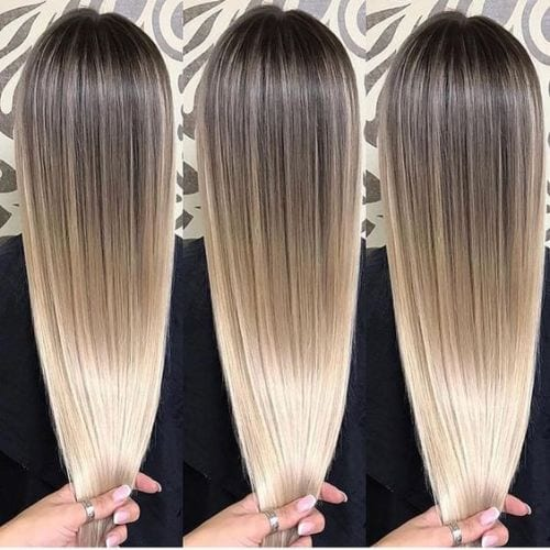 Blended Blonde Balayage