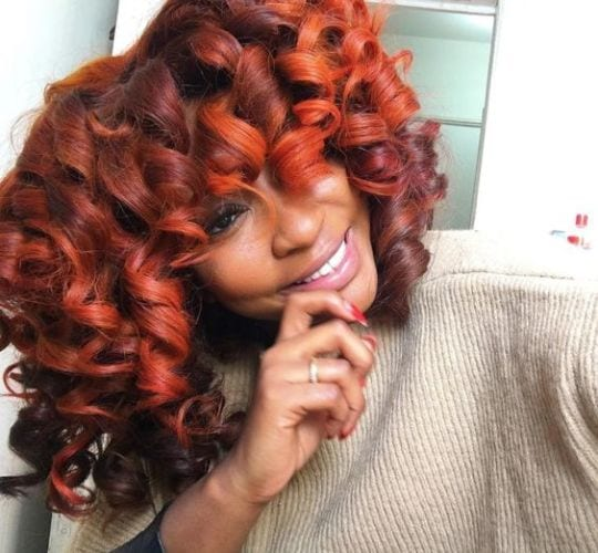 Fall Hair Colors for Natural Hair