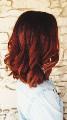 Shades of Red Hair Color for Fall