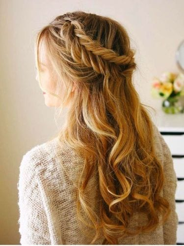 The Crown Braid with Fishtail