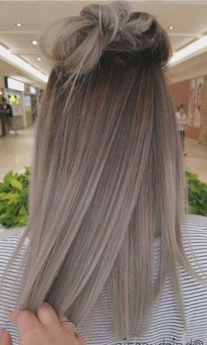 ash blonde hair for fall