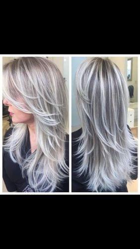 blended gray