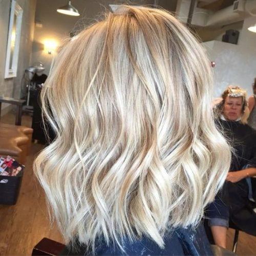 bright blonde hues