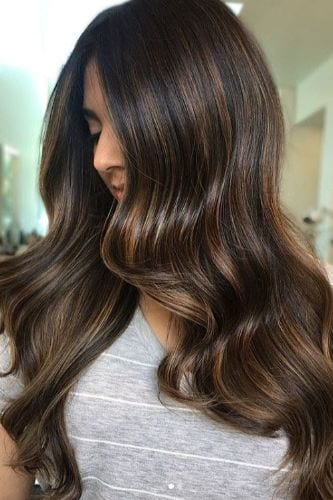 dark brew hair