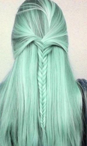 green gray hair
