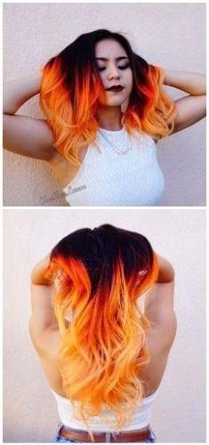 halloween inspired hair