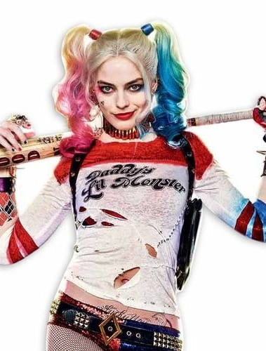 harley quinn suicide squad hair