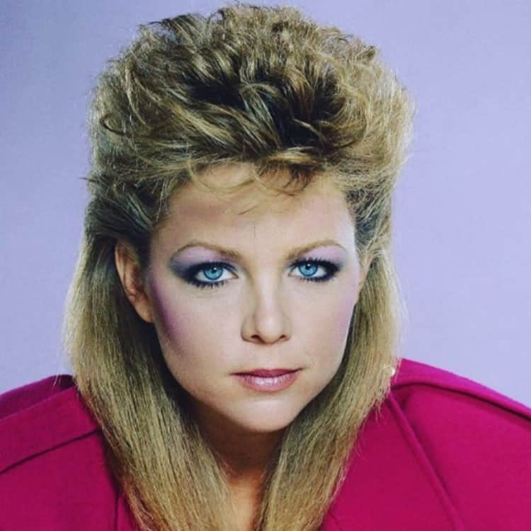 lavender hair 80s hairstyles