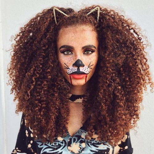 lioness halloween hair