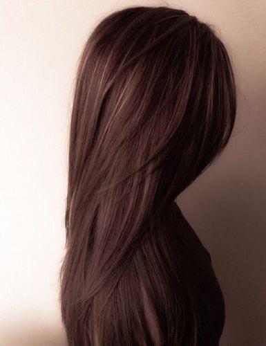 cinnamon fall hair color ideas