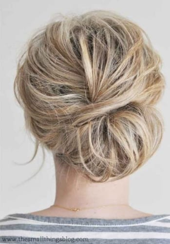 Bun Hairstyles for Short Hair