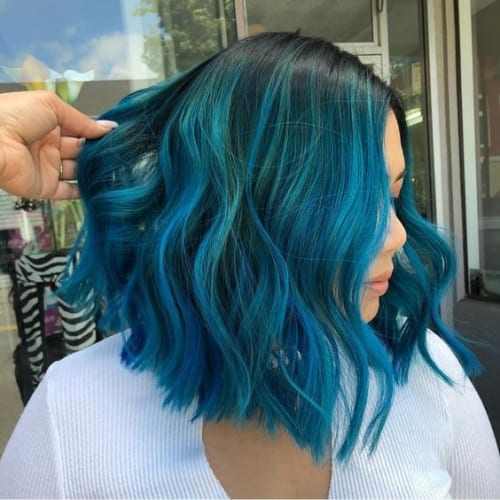 Blue Hair 50 Stunning Ways To Sport And Rule It My New Hairstyles
