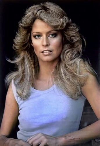 The Farah Fawcett Feathered Flip