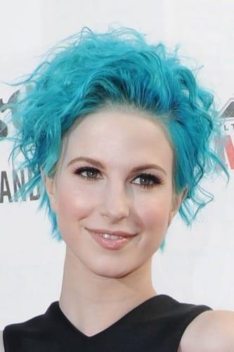 Hayley Williams Blue Hair