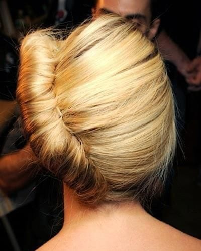 1920s Chignon Hairstyle