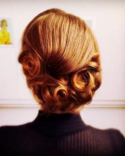 1940'S Chignon Hairstyle