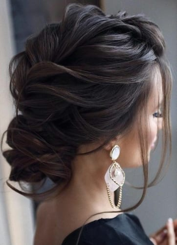 Chic Chignon Hairstyle