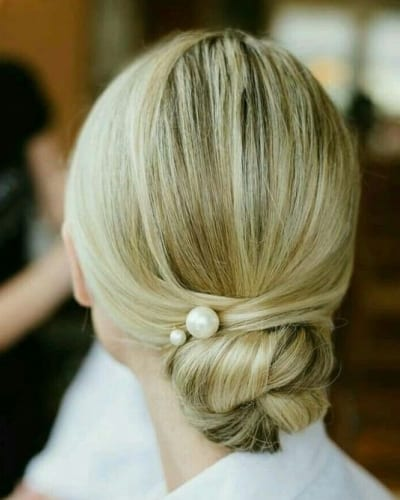 Classic Chignon Hairstyle