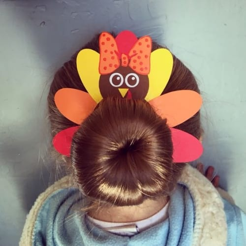 Cute Thanksgiving Hairstyles for Little Girls
